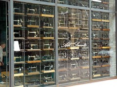 """Sewing Machine shop window • <a style=""""font-size:0.8em;"""" href=""""http://www.flickr.com/photos/36398778@N08/6069389848/"""" target=""""_blank"""">View on Flickr</a>"""