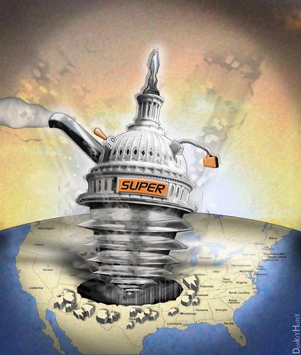 Super Congress / Committee - Cartoon