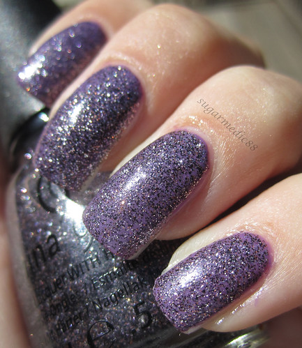 CG In The City over China Glaze Spontaneous