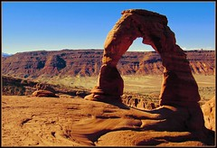Delicate Arch (f l a m i n g o) Tags: park utah arch arches national moab np delicate natl
