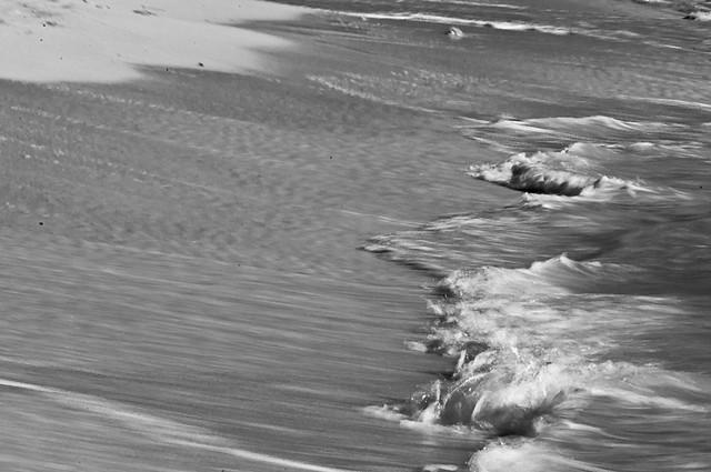 la playa despierta