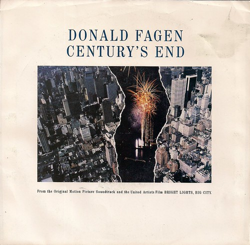 1988 Donald Fagen Century's End (7'' Picture Sleeve)