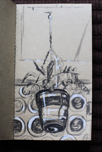 Planter sketch @ Flying Saucer