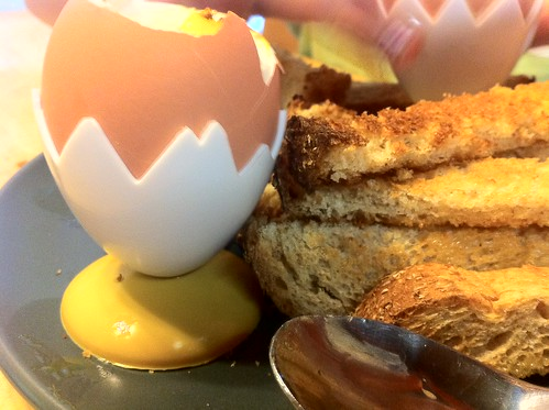 For the love of soft boiled eggs!