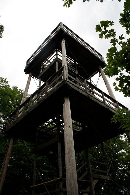 the mountain tower