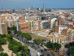 Barcelona | Cityscape 01 (Christopher James Botham) Tags: barcelona city urban building skyline architecture spain cityscape panoramic catalonia catalan edifice est2011