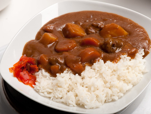 Beef curry (Japanese style)