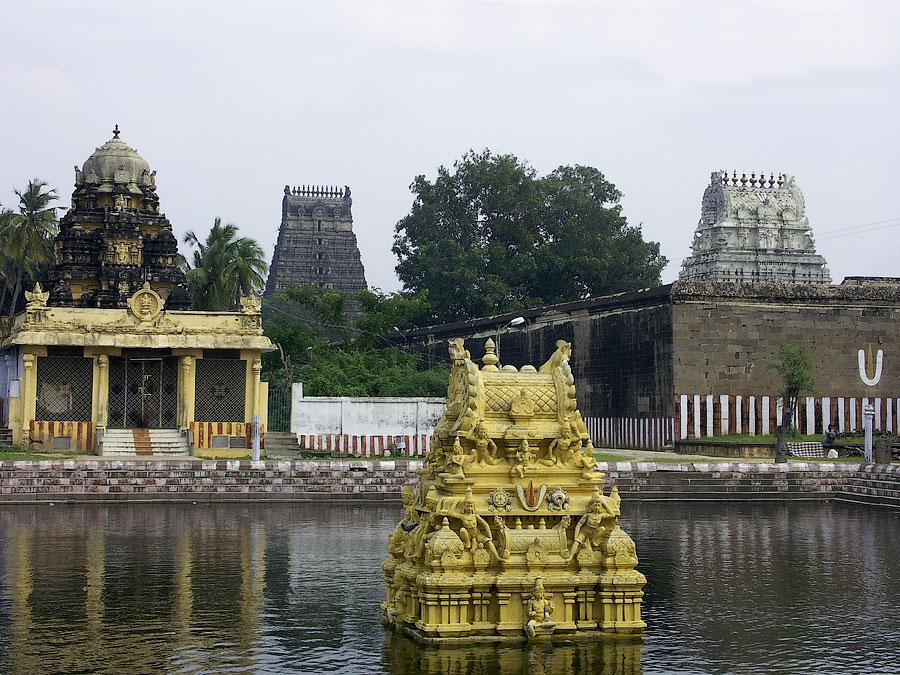 Храм Девараджасвами. Канчипурам, Тамил Наду, Индия © Kartzon Dream - авторские путешествия, авторские туры в Индию, тревел видео, фототуры