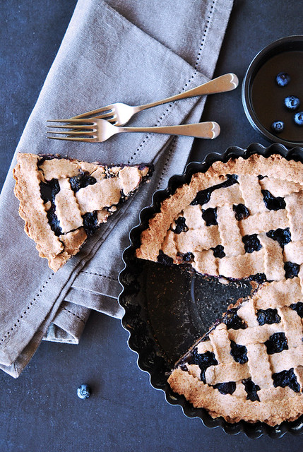2.Blueberry pie al grano saraceno
