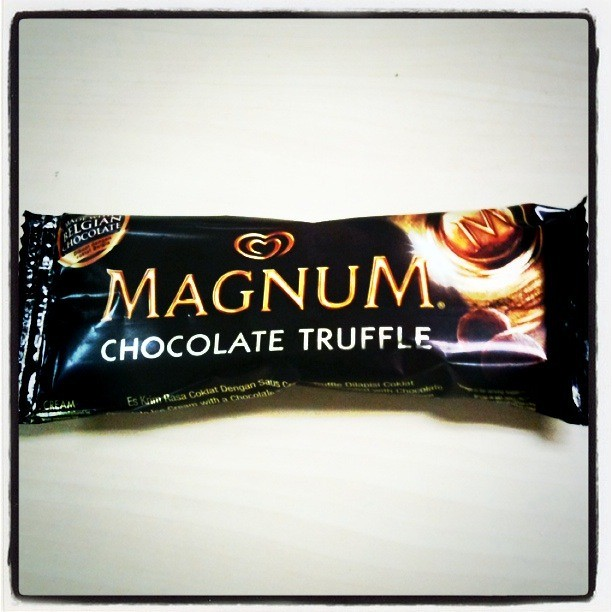 Magnum Chocolate Truffle Icecream