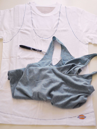 Sharpie DIY-printed tank top-2