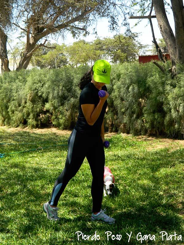 Mitos sobre la grasa, ejercicio pesas