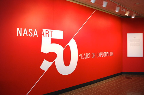 The NASA|Art exhibit at the Smithsonian's Air and Space Museum