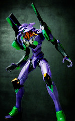 EVA-01 test type (Bandai Movie Realization) (Jova Cheung) Tags: toys actionfigure neongenesisevangelion mecha evangelion eva01  superrobot  bandaimovierealization