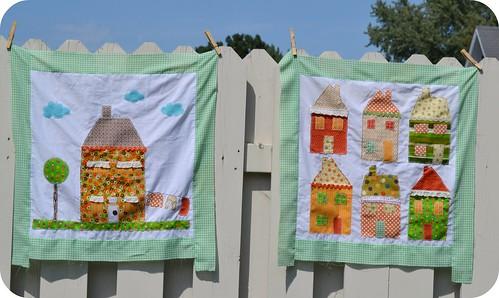 harvest quilt squares