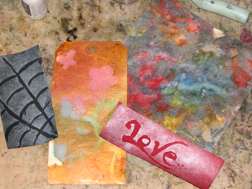 Pigment Ink Mist - Masking Fluid 007