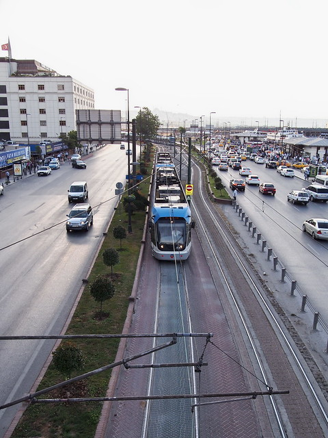 伊斯坦堡街道--地面電車Tramvay