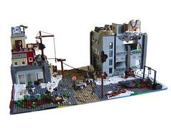 Rebuilding Society (Eturior) Tags: snow war lego apocalypse nuclear dio society diorama rebuilding apoc brickarms eturior