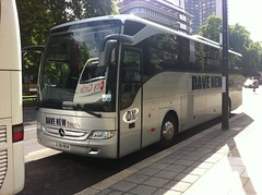 Dave New Tours DC08NEW (TubaPlayer) Tags: new mercedes coach dc08 dc08new