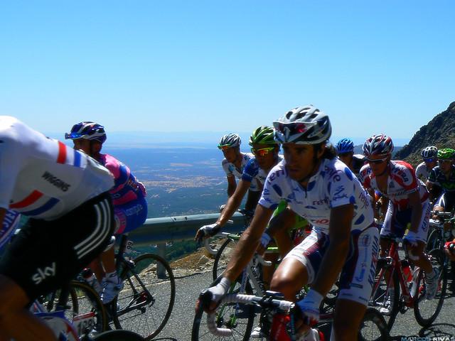 Vuelta a España 2011 - Puerto de Mijares Dani Moreno