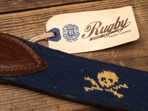 Rugby / Skull&Bones Surcingle Belt