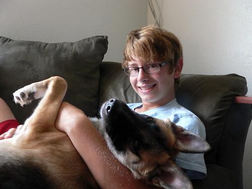 Koda and Leo