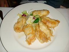 Taquitos de merluza fresca