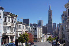 2011-08-14 San Francisco 133 Transamerica Pyramid from Montgomery Street