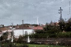 Summer lightning (Daniel Moreira) Tags: summer storm portugal window rain chuva da vero janela lightning beira relmpago tempestade penela