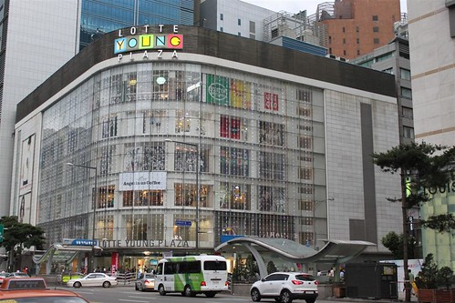 Lotte Shopping Mall at Myeongdong,  Seoul South Korea