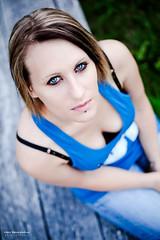 ♥ Cécilia ♥ (Marc Benslahdine) Tags: portrait yeux bleu lightroom cécilia canonef50mmf18ii canoneos5dmkii tripax ©marcbenslahdine wwwmarcopixcom wwwfacebookcommarcopix marcopixcom