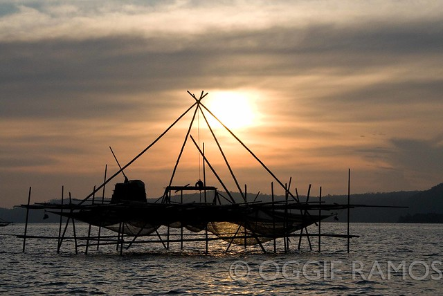Bislig - Fishing Nets at Sunrise