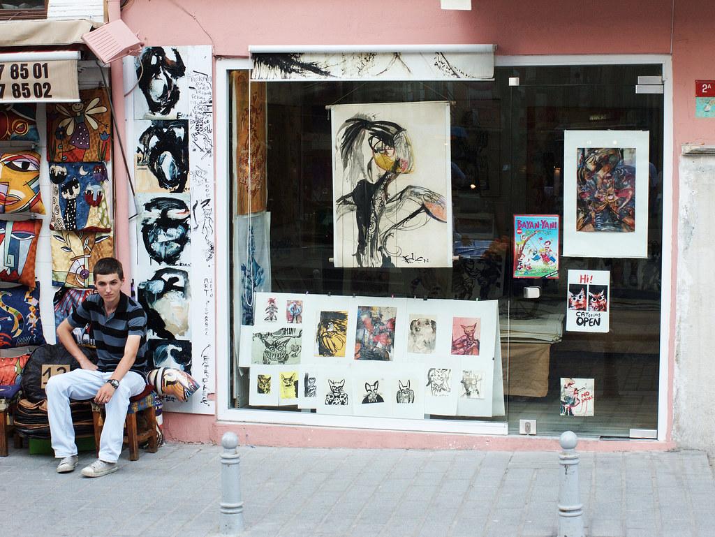 An art shop