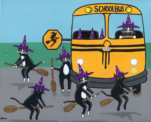 witch school bus by Kilkennycat