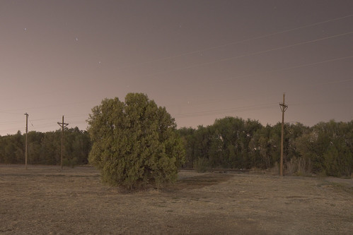 At Night on the Edge of Lubbock, Texas
