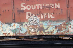 (CONSTRUCTIVE DESTRUCTION) Tags: train graffiti dvd streak destruction tag graf end boxcar graff piece constructive tekn