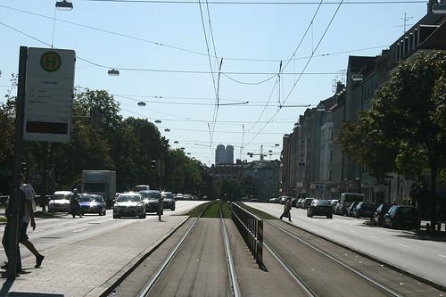Lothstraße - Blick Richtung Frauenkirche