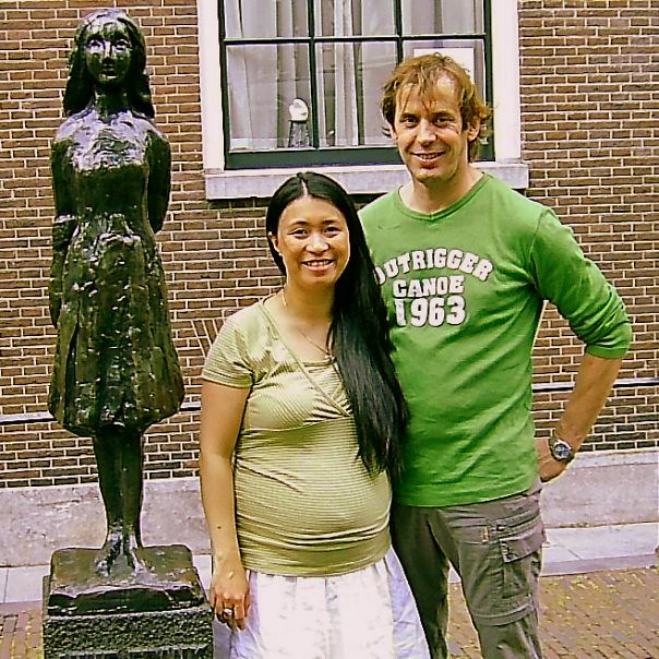 Anne Frank Statue 2007