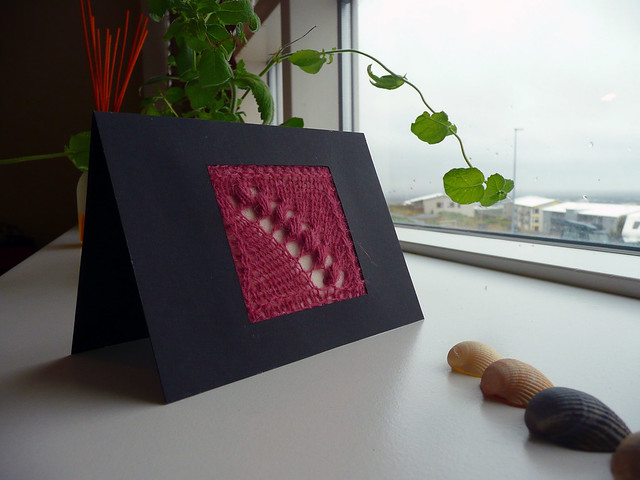 Knitting - Card