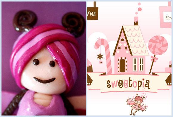 Crafty: Sweetopia Fairy - Polymer Clay Sculpture