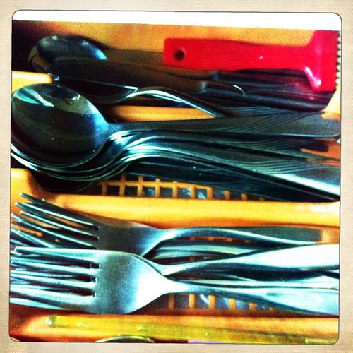 The cutlery drawer. Day 283/365.