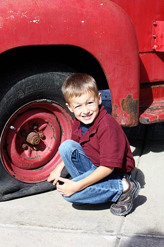 Nathan-flat-tire