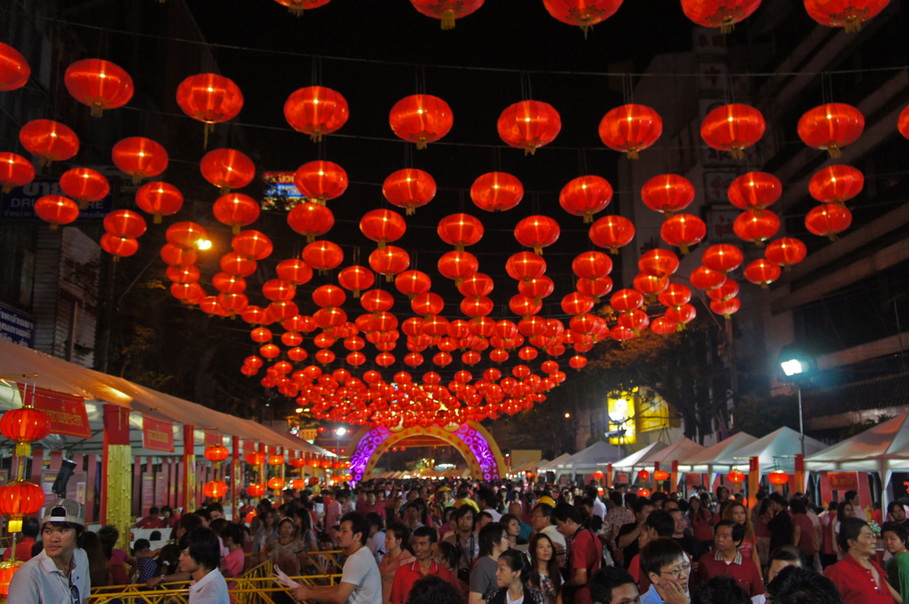 Año nuevo chino en China Town