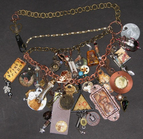 Mixed Media Charm Jewelry 008