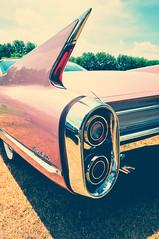 Pink Cadillac (Hi-Fi Fotos) Tags: pink classic car nikon tail sigma cadillac chrome american fin coupedeville d5000 816mm
