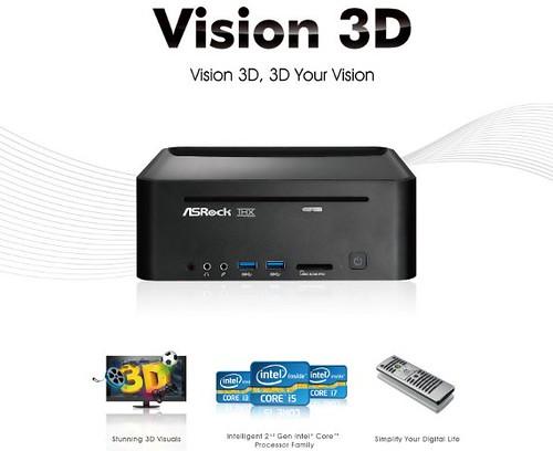 ASRock Vision 3D 2nd Gen HTPC