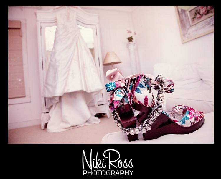 Shoes&necklace&dress