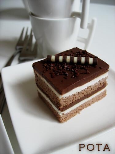 Gateau au mascarpone au chocolat