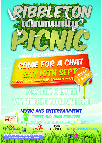 ribbleton picnic flyer