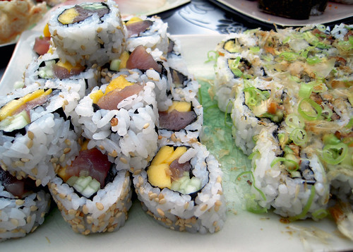 Delicious Custom Sushi Rolls